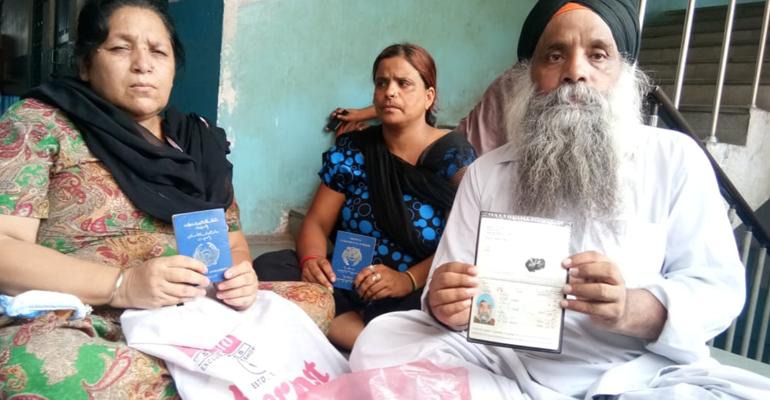 Afghan Sikh refusee