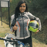 She Is The First Indian Woman To Be A Part Of Sherco TVS Rally Factory Team In Baja Aragon 2018