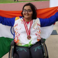 Paralysis Couldn't Stop Her From Winning Medals And Making India Proud