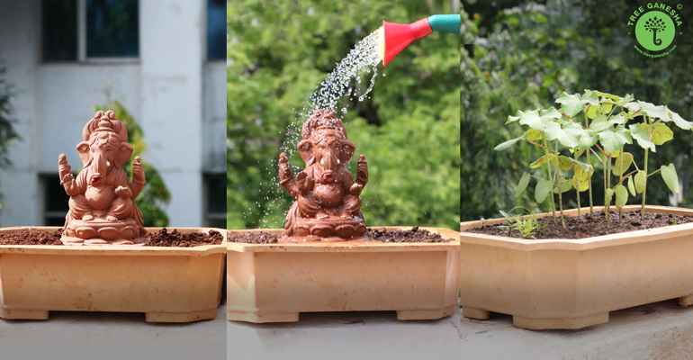ganesh chaturthi eco friendly ganesh idol