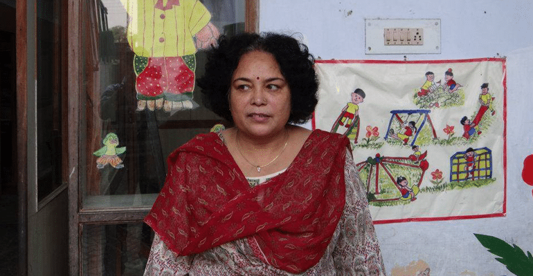 Neeta Bahadur, founder of Drishti Samajik Sanstha