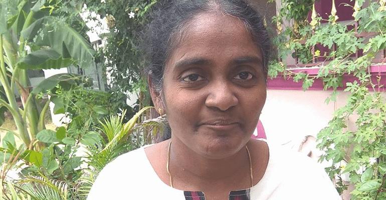 Periasamy Kousalya HIV positive Indian woman