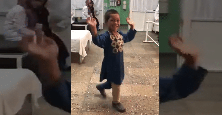 Afghan Boy Dances With Prosthetic Leg Is Symbolic Of The Resilient Country And Its People