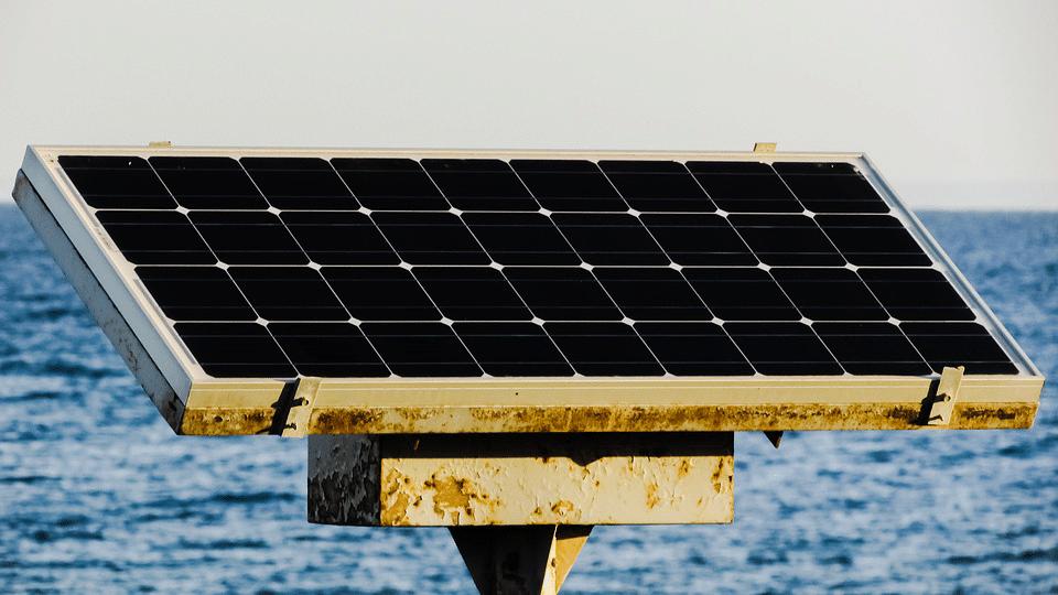 kumkum dye solar panels