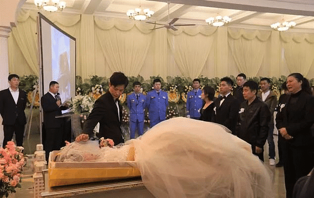 Here's What Commitment Looks Like, Man Marries Wife's Corpse On Her Funeral