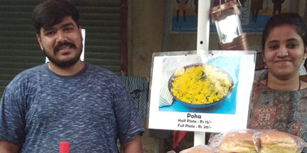 Why This Corporate MBA Couple Sells Street Food In Mumbai Reflects The Power Of Positive Intent