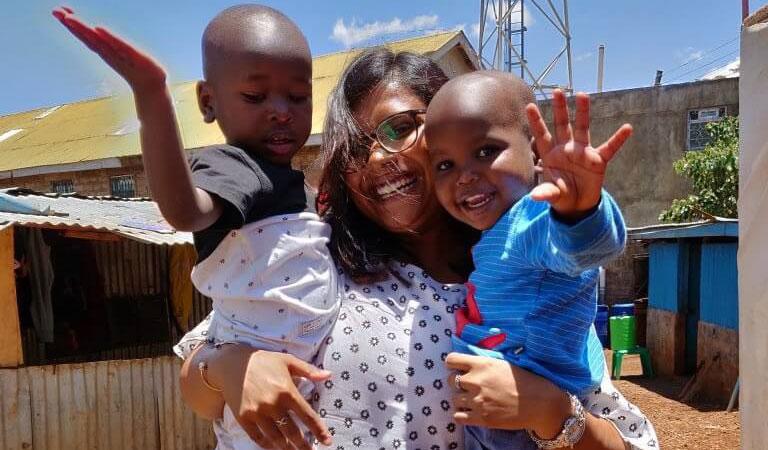 kenya volunteering riyanka