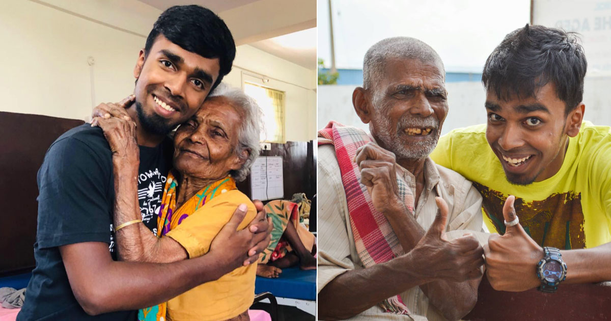 Surviving A Fatal Accident At 19, This Man From Hyderabad Is Giving The Needy A Second Chance